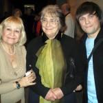 С Галиной Абрамовой и Татьяной Самойловой. 2007 год