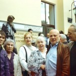 С коллегами по Музею кино на открытии памятника у ВГИКа. 2009 год