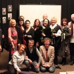 Участники презентации первого тома энциклопедии в Доме актёра имени Яблочкиной