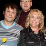 Заслуженный артист Эстонской ССР Владимир Лаптев и Лариса Гордейчик