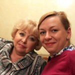 Заслуженная артистка РФ Анна Фроловцева и Ольга Сальникова