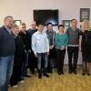 С участниками вечера памяти Геннадия Фролова. Второй справа - Алексей Фролов, родной брат Геннадия. 2014 год