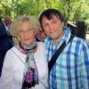 С Ариной Алейниковой. 2014 год