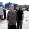 С мамой. 2009 год