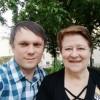 С Ириной Барбье, дочерью В.М. Сорогожской. 22.05.2019
