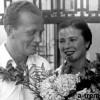 С женой Верой Осокиной