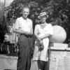 С мужем Николаем Корном